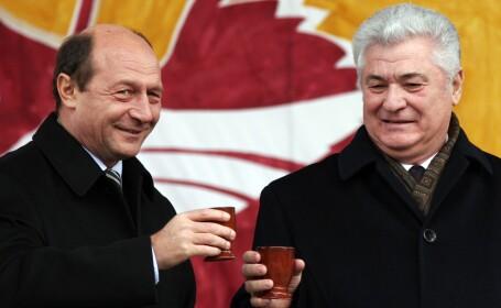 Traian Basescu, Vladimir Voronin
