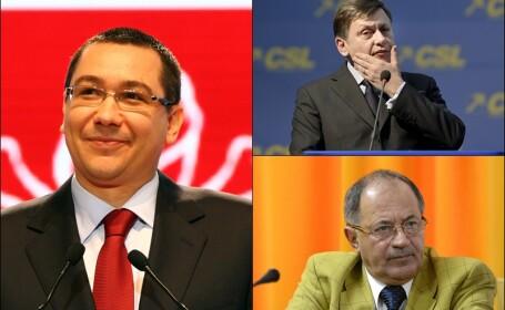 Sorin Rosca Stanescu, Crin Antonescu, Victor Ponta