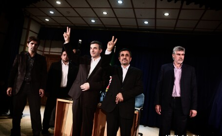 Esfandiar Rahim Mashaei, Mahmoud Ahmadinejad