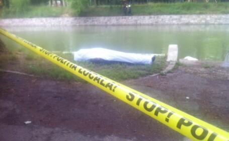 Cadavrul unui barbat a fost descoperit pe raul Bega, aproape de centrul Timisoarei