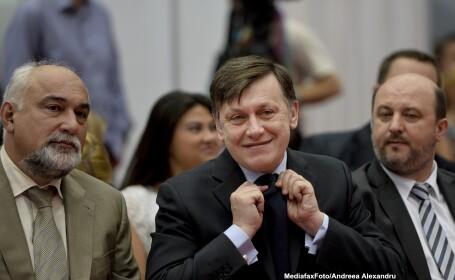Varujan Vosganian, Crin Antonescu, Daniel Chitoiu