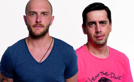 Bordea si Natanticu, doi comedianti ai momentului vin sambata la Timisoara. Unde te intalnesti cu ei