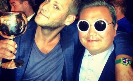 impostorul Psy, Cannes