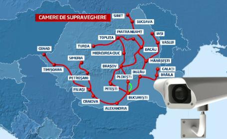 HARTA celor 63 de sisteme video care iti trimit amenda pentru rovinieta in plic, acasa
