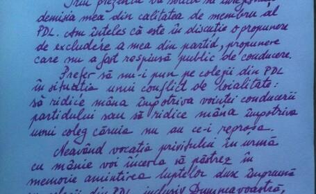 scrisoare funeriu