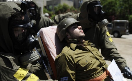Exercitiu de aparare in Israel