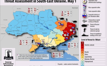 harta evenimente Ucraina