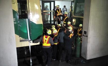 Doua metrouri s-au ciocnit in Coreea de Sud. Peste 170 de oameni sunt raniti