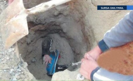 O femeie a fost ingropata de vie, accidental, sub tone de nisip. Ce obiect a ajutat-o sa respire in subteran