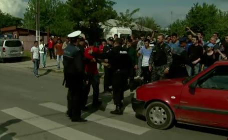 Protest in Giurgiu