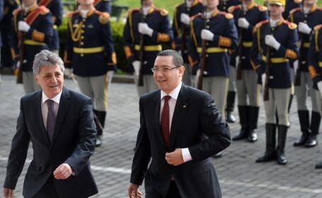 Victor Ponta si Mircea Dusa