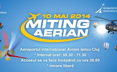 Spectacol aviatic in weekend pe Aeroportul International Avram Iancu Cluj-Napoca