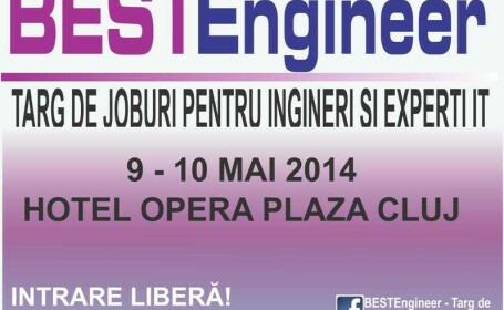 BESTEngineer – Targ de joburi pentru Ingineri si Experti IT, in weekend la Cluj-Napoca