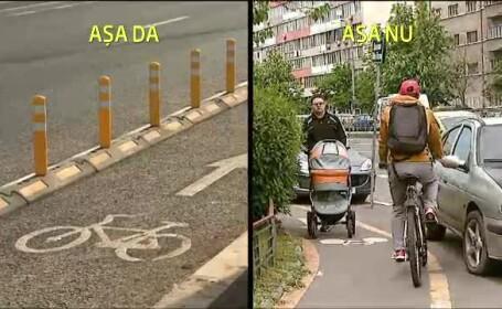 10 milioane de euro pentru 100km de piste pentru biciclisti. HARTA celor 61 de artere ce vor strabate Capitala pana in 2016