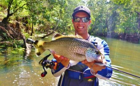 Jimmy Gus James, pescar australian