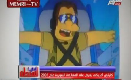 Egiptenii cauta teorii ale conspiratiei intr-un episod din Simpsons. Ce legatura au gasit intre SUA si situatia din Siria