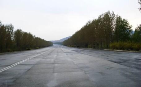 Autostrada Tinerilor Eroi. Cum arata cea mai goala sosea din lume. GALERIE FOTO