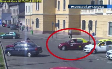 Surprins de camerele de supraveghere in timp ce fura o masina. Cum a fost prins de politisti