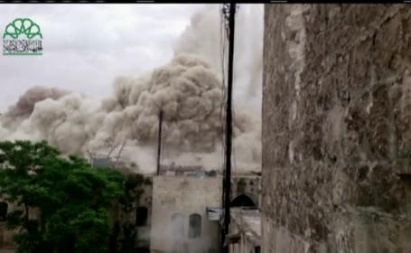 explozie hotel Siria