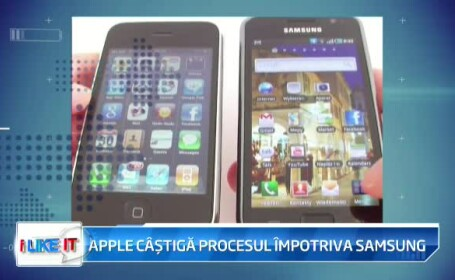Apple castiga procesul cu Samsung