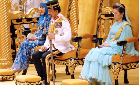 Sultanul din Brunei si legea Sharia, in atentia presei internationale. Motivul pentru care vedetele au luat atitudine