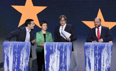 Alegeri europarlamentare 2014. Disputa din cauza Greciei la cea mai mare confruntare intre candidatii la sefia PE