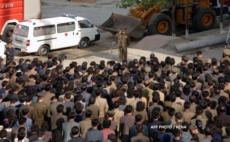 Accident in Coreea de Nord