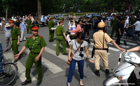 Violente in Vietnam