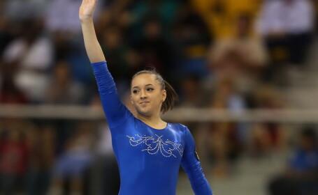 Romania, din nou pe podiumul invingatorilor. Larisa Iordache a castigat medalia de argint la sol la CM de gimnastica