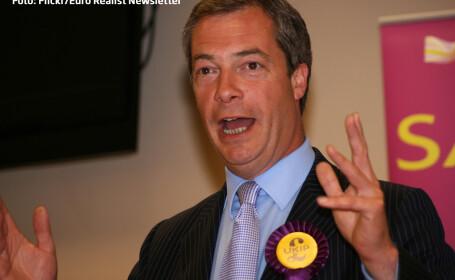 UKIP, partidul extremist britanic al carui lider nu vrea vecini romani, a luat un avans considerabil in alegerile locale