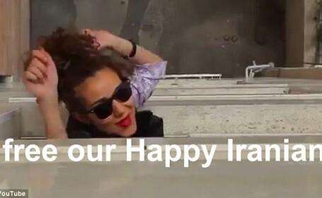Sase tineri iranieni, arestati pentru un videoclip inspirat de piesa \
