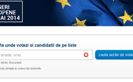 Aplicatie pentru sectia votare