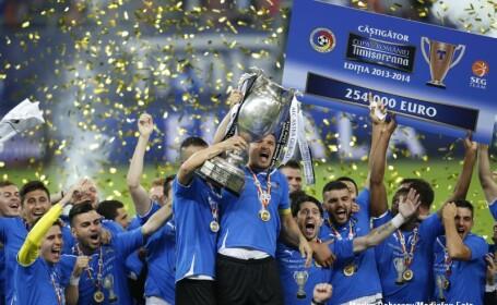 Astra a invins Steaua la penalty-uri si a castigat Cupa Romaniei. Ce spune Reghecampf despre oferta de la Al Hilal