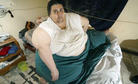 Unul dintre cei mai grasi oameni din lume, mexicanul Manuel Uribe, a murit. A intrat in Cartea Recordurilor cu 560 de kg