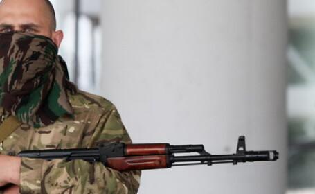 Criza in Ucraina. Kievul acuza Rusia ca a trimis teroristi peste granita. La aeroportul din Donetk s-au declansat iar lupte