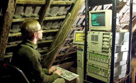 server ascuns in pod