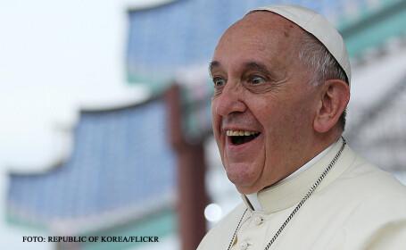 papa Francisc uluit
