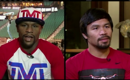 Manny Pacquiao si Floyd Mayweather