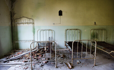spital abandonat getty