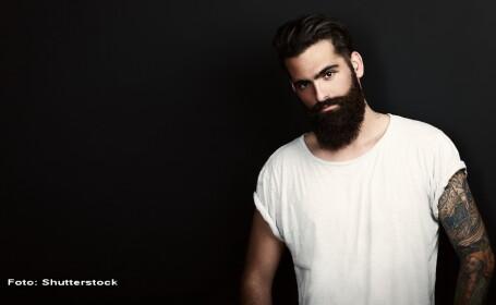 barbat cu barba - Shutterstock