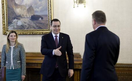 Victor Ponta, Klaus Iohannis - AGERPRES