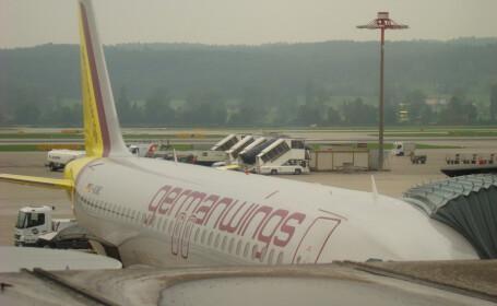 avion Germanwings pe aeroport FOTO FLICKR