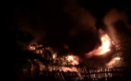 incendiu in Balaceanca Ilfov