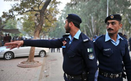 politisti pakistanezi in Islamabad