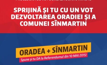 Referendum in Oradea - PRIMARIA ORADEA