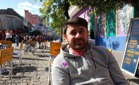 Cristian Onetiu in Buenos Airesa