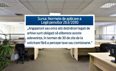 Situatie absurda in Romania: intocmirea unui dosar de pensionare poate costa mai mult decat pensia in sine