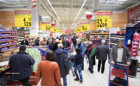 Hypermarket, supermarket - AGERPRES
