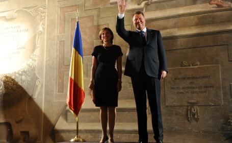 Klaus Iohannis, Carmen Iohannis - AGERPRES