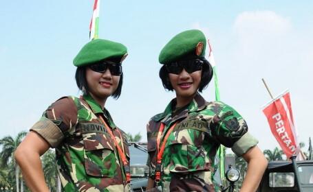 Liderii Armatei indoneziene cer ca toate candidatele sa fie virgine. Testele controversate si criticate de oficialii din OMS